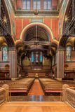 Trinity Church, Copley Square, Boston. Interior shots of this magnificent space Royalty Free Stock Photography