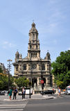 The Trinity Church (Eglise de la Sainte-Trinite) in Paris, France. Royalty Free Stock Photos