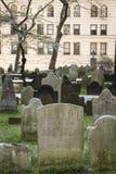 Trinity church graveyard, New York City Royalty Free Stock Photos