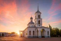 Free Trinity Church In Ostrov Royalty Free Stock Photos - 60660748