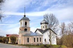 Free Trinity Church In The Yamskaya Sloboda. Veliky Novgorod Royalty Free Stock Image - 55871866