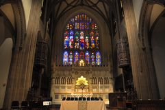 Trinity Church interior, New York City Stock Image