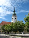 A Trinity Church in Karlovac, Croatia Stock Photo