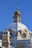 Trinity Church in Krasnoe Selo. Royalty Free Stock Photo