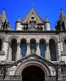 Trinity Church. Lovely Trinity Church, Copley Plaza, Boston, Massachusetts Stock Photo