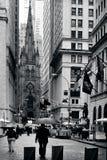 Trinity Church in Manhattan New York Royalty Free Stock Image
