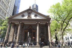Trinity Church in new york city Stock Photo