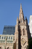 Trinity church in New York Royalty Free Stock Image