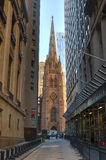 Trinity Church, New York City. USA. Royalty Free Stock Image