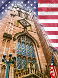 Trinity Church New York  Royalty Free Stock Photography