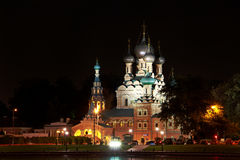 Trinity Church in Ostankino Royalty Free Stock Images