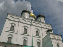 Trinity church. In Pskov Krom, Russia Stock Images