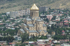 Trinity Church, Tbilisi, Georgia Stock Photo