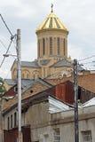 Trinity Church, Tbilisi, Georgia Stock Images