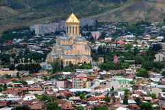 Trinity Church in Tbilisi Royalty Free Stock Images