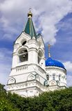 Trinity Church Trinity village bell tower the Golden dome Royalty Free Stock Image