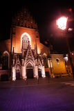 Trinity church view in Krakow, Poland Royalty Free Stock Photography