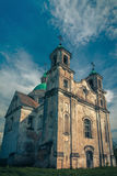 Trinity Church in the village of Benicia, Belarus Stock Photo