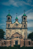 Trinity Church in the village of Benicia, Belarus Royalty Free Stock Photos