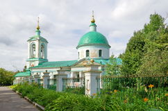 Trinity Church zhivonachalnoj on Sparrow hills, Moscow, Russia Stock Image