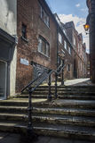 Trinity Churchyard Steps, Guildford Royalty Free Stock Images