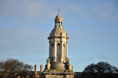 Trinity College bell tower Stock Images