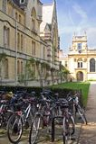 Trinity College Bicycles Stock Photography