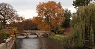 Trinity College Bridge,Cam River Royalty Free Stock Image
