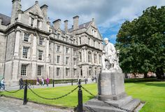 Trinity College Buildings royalty free stock image