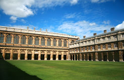Trinity College, Cambridge Royalty Free Stock Photo