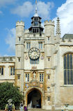 Trinity College in Cambridge Stock Photography