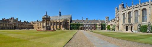 Trinity college Cambridge  grounds. Stock Image