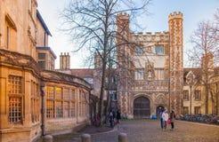 Trinity college, Cambridge Royalty Free Stock Photo