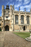 Trinity College, Cambridge University Royalty Free Stock Images