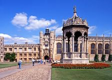 Trinity College, Cambridge. Stock Photography