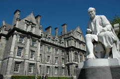 Trinity College Campus Stock Photography