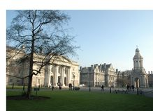 Trinity College Campus Royalty Free Stock Image