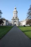 Trinity College Campus Royalty Free Stock Photography