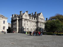 Trinity College Campus Dublin Stock Photos