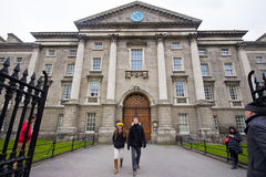 Trinity College Dublin Stock Photos