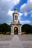 Trinity College. Dublin, Ireland. August 18, 2015. Campanile (bell tower) in Trinity College Royalty Free Stock Images