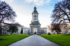 Trinity College, Dublin, Ireland Stock Photos