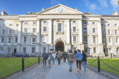 Trinity College of Dublin Royalty Free Stock Image