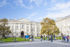 Trinity College of Dublin Stock Images