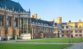 Trinity college, est. 1546 Cambridge Royalty Free Stock Photo