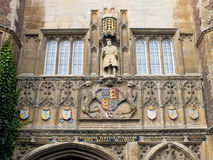 Trinity College Great Gate (091) Stock Photography