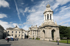 Trinity College, Irlanda Immagine Stock Libera da Diritti
