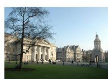 trinity college kampusu Obraz Royalty Free
