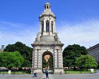 Trinity College Monument Stock Photography