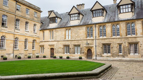 Trinity College In Oxford United Kingdom. A building of Trinity College in Oxford United Kingdom Royalty Free Stock Photos